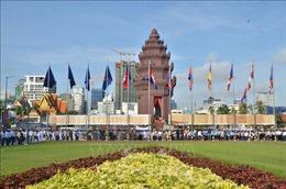 Trọng thể Lễ kỷ niệm 65 năm ngày Quốc khánh Campuchia