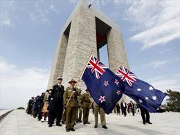 Australia và New Zealand tưởng niệm những người thiệt mạng trong Chiến tranh thế giới thứ nhất