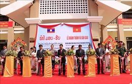 Khánh thành trường học - quà tặng của Tổng Bí thư, Chủ tịch nước Nguyễn Phú Trọng cho tỉnh Bolikhamsay, Lào
