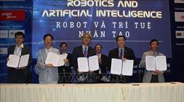 Liên kết phát triển công nghệ robot và trí tuệ nhân tạo tại Việt Nam