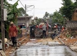 Quảng Bình tập trung xử lý nợ đọng trong xây dựng nông thôn mới