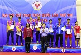 Đại hội thể thao toàn quốc lần thứ VIII: Hà Nội nhất toàn đoàn môn Cầu lông