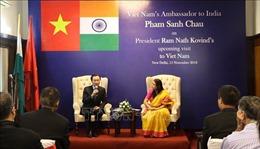 Tổng thống Ấn Độ sẽ phát biểu trước Quốc hội Việt Nam