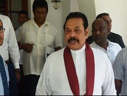 Tòa án Sri Lanka phán quyết đình chỉ chức Thủ tướng của ông Rajapaksa