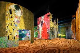 Triển lãm ánh sáng về danh họa Gustav Klimt