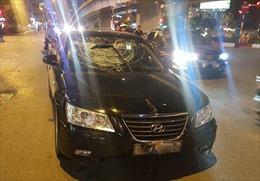 Xác định danh tính tài xế gây tai nạn liên hoàn trên phố Trần Duy Hưng, Hà Nội