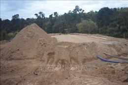 Gia Lai thu giữ 1.200 m3 cát khai thác trái phép