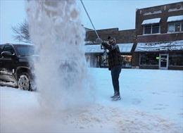 Mưa tuyết và lũ lụt hoành hành miền Nam và Trung Tây nước Mỹ