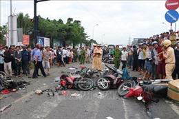 Vụ xe container gây tai nạn thảm khốc tại Long An: Hệ thống thắng xe đảm bảo tiêu chuẩn