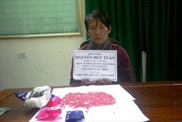 Phụ xe container giấu 1.400 viên ma túy trong áo khoác từ Lào về Việt Nam