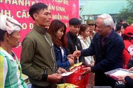 Phó Chủ tịch Quốc hội Uông Chu Lưu dự chương trình 'Tết sum vầy' tại Thanh Hóa