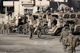 Binh sĩ nước ngoài tại Iraq giảm 25% trong năm 2018