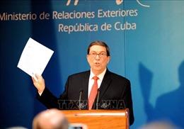Cuba phản đối Mỹ siết chặt lệnh cấm vận