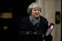 Chính phủ của Thủ tướng Anh vượt qua cuộc bỏ phiếu bất tín nhiệm