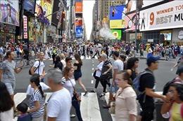 Thành phố New York đạt kỷ lục mới về lượng khách du lịch với 65,2 triệu lượt