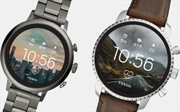 Google mua công nghệ đồng hồ thông minh của Fossil