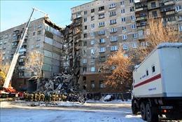 Nga bác bỏ thông tin IS đứng sau vụ sập một phần tòa chung cư