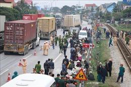 Hỗ trợ nạn nhân và gia đình trong vụ tai nạn giao thông nghiêm trọng ở Hải Dương
