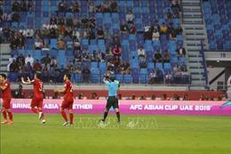 Asian Cup 2019: Những con số sau hiệp 1 trận Việt Nam - Nhật Bản