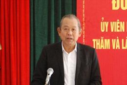 Phó Thủ tướng Chính phủ Trương Hòa Bình làm việc tại tỉnh Long An