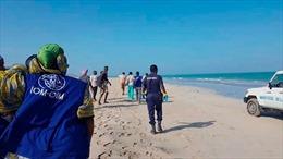 Tìm thấy thêm 23 thi thể vụ đắm thuyền ngoài khơi Djibouti