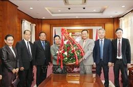 Lãnh đạo Lào chúc mừng 89 năm ngày thành lập Đảng Cộng sản Việt Nam
