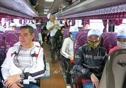 'Chuyến xe nghĩa tình' đưa 1.000 công nhân ở Bình Dương về quê đón Tết