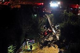 Rơi trực thăng quân sự tại Istanbul làm 4 người thiệt mạng