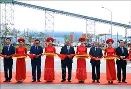 Thủ tướng Nguyễn Xuân Phúc cắt băng khánh thành Nhà máy Nhiệt điện Thái Bình