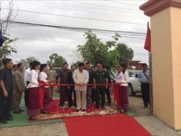Khánh thành Đài Hữu nghị Việt Nam - Campuchia tại tỉnh Kratie