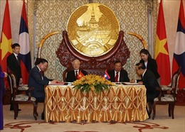 Tổng Bí thư, Chủ tịch nước Nguyễn Phú Trọng kết thúc tốt đẹp chuyến thăm Lào và Campuchia