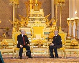 Báo chí Campuchia đánh giá cao chuyến thăm của Tổng Bí thư, Chủ tịch nước Nguyễn Phú Trọng