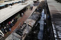 Vụ hoả hoạn tại nhà ga ở Cairo: Chưa có thông tin người Việt Nam gặp nạn