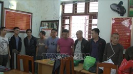 Bắt sới bạc xuyên tỉnh tại Thanh Hóa