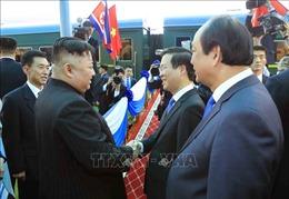 Chủ tịch Triều Tiên kết thúc chuyến thăm Việt Nam