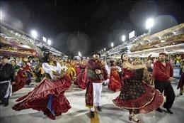 Những hình ảnh bắt mắt tại lễ hội Carnival Rio de Janeiro