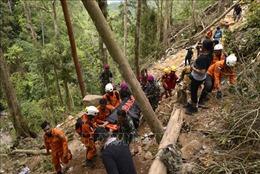 Nhiều khả năng gần 100 người vẫn bị mắc kẹt trong vụ sập hầm mỏ ở Indonesia