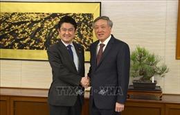 Chánh án Tòa án Nhân dân Tối cao Nguyễn Hòa Bình thăm và làm việc tại Nhật Bản