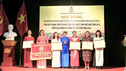 Phụ nữ Thủ đô nỗ lực xây dựng gia đình 'No ấm, tiến bộ, hạnh phúc'
