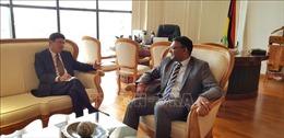 Việt Nam - Mauritius cam kết thúc đẩy quan hệ trên nhiều lĩnh vực