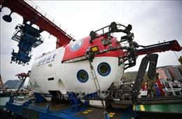 Tàu lặn mới của Trung Quốc hoàn thành chuyến thám hiểm đầu tiên