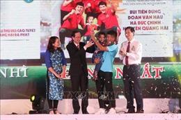 Các tuyển thủ đội tuyển bóng đá nam 'ẵm' nhiều giải thưởng Fair Play năm 2018
