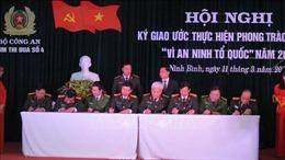 Nâng cao hiệu quả công tác xây dựng phong trào 'Toàn dân bảo vệ an ninh Tổ quốc'