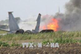 Rơi máy bay quân sự của Trung Quốc, 2 phi công thiệt mạng