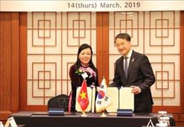 Việt Nam, Hàn Quốc thúc đẩy hợp tác trong lĩnh vực y tế