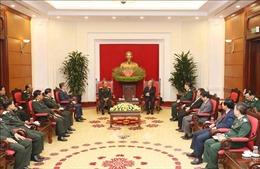 Thường trực Ban Bí thư tiếp Chủ nhiệm Tổng cục Chính trị Quân đội Nhân dân Lào