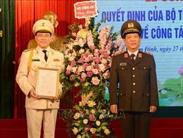 Bổ nhiệm Đại tá Phạm Văn Long làm Giám đốc Công an tỉnh Nam Định