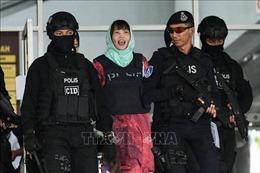 Nụ cười Đoàn Thị Hương sau khi tòa tuyên án