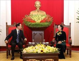 Quỹ Tống Khánh Linh thúc đẩy mở rộng hợp tác với các đối tác Việt Nam
