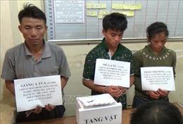 Sơn La: Bắt ba đối tượng, thu hơn 7.000 viên ma túy tổng hợp